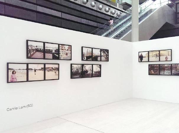 「Face of Time」於新加坡國際攝影節展出。圖/藍愛維提供。