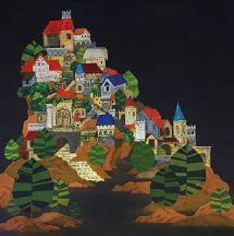 楊卉筠 靜謐山城
