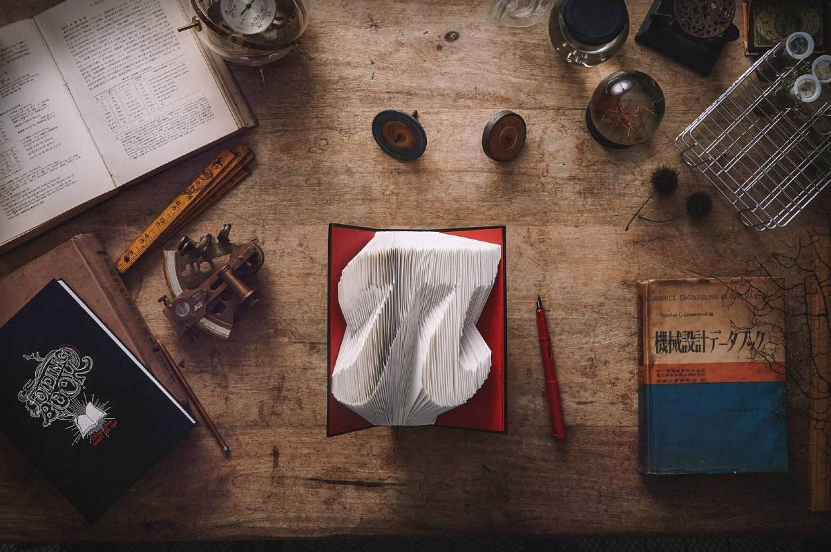 <3D摺紙筆記本> 讓生活點滴,變成書架上的主角