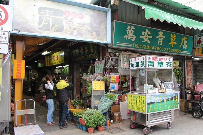 萬華青草巷。圖/非池中藝術網攝。