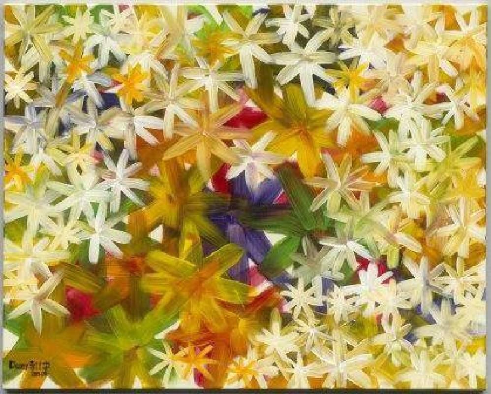宇之光2015李仕宇創作展--2015秘密花園03壓克力、畫布72 x91 cm