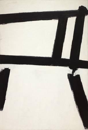 Franz Kline,《White Forms》,1955。