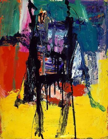 Franz Kline,《untitled》,1959。