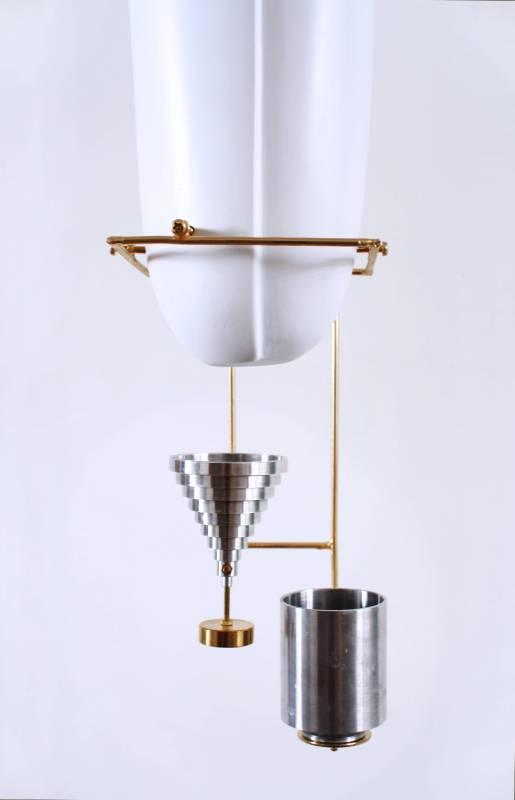 《XX》 70x70x80cm, 金屬、FRP,2015(局部)