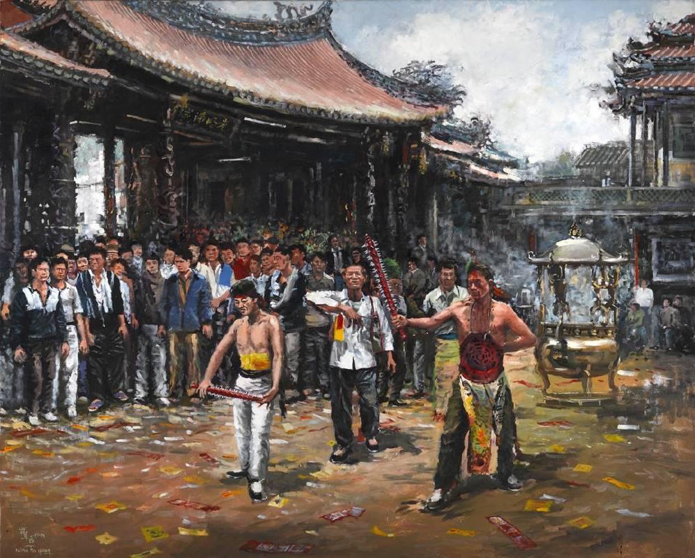 鄉土名家楊年發-龍山寺
