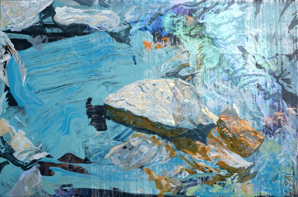 許聖泓,《礦石》,2015。