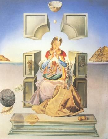 達利《力加港聖母》。