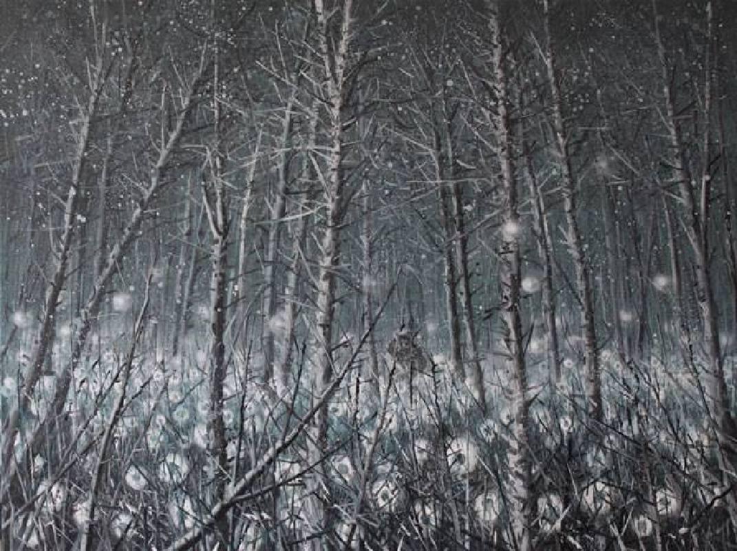 啟示-1號,油彩畫布,150x200cm,2012