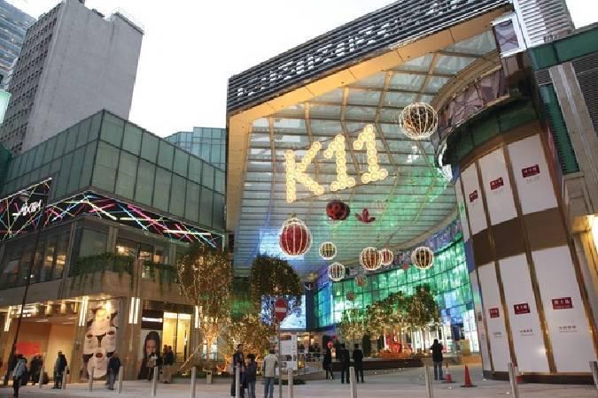 香港K11購物中心。圖/取自The Art Newspaper。