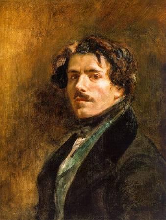 法國浪漫主義畫家德拉克拉瓦。圖/取自Wikipedia。