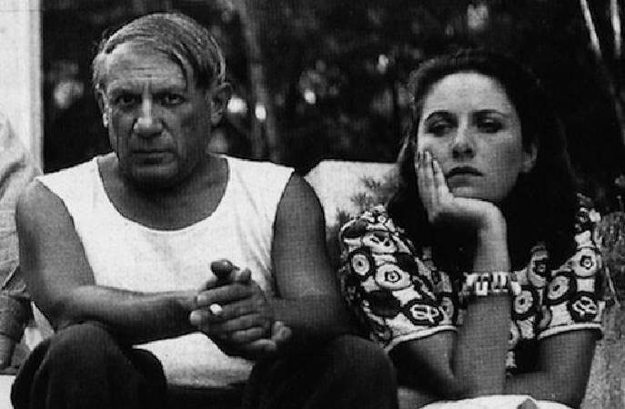 畢卡索與法國超現實主義攝影師朵拉。