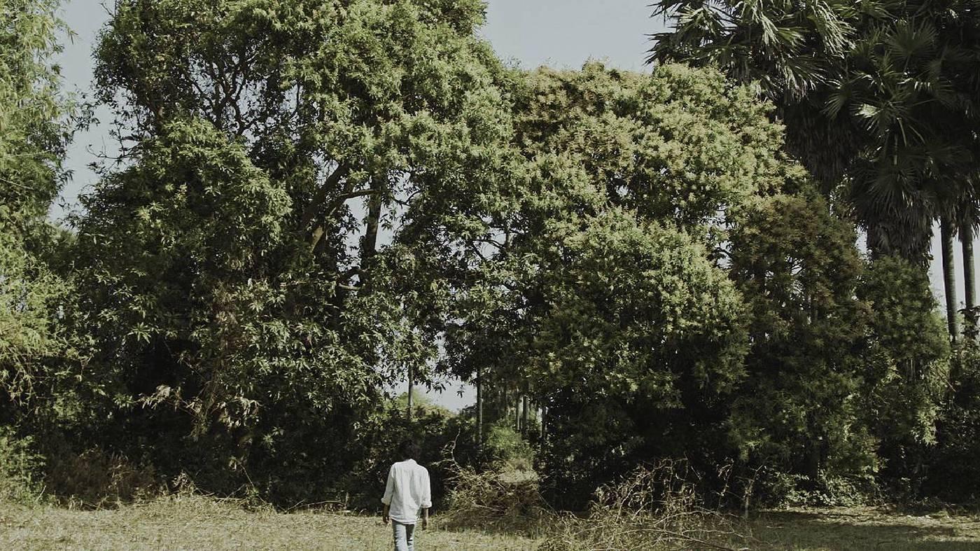 〈獨白〉,單頻道錄像,2014,藝術家提供