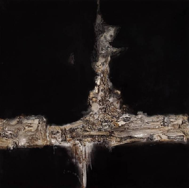 冷冰川 ,《 雙琴》,2007。