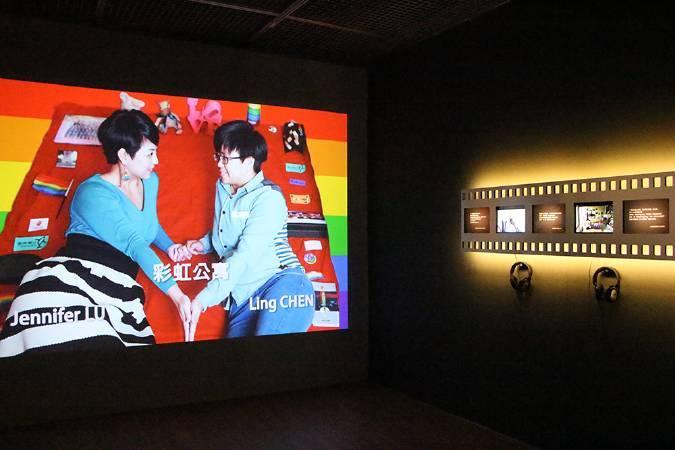 彭怡平系列紀錄片《台灣女人的房間》。圖/非池中藝術網攝。