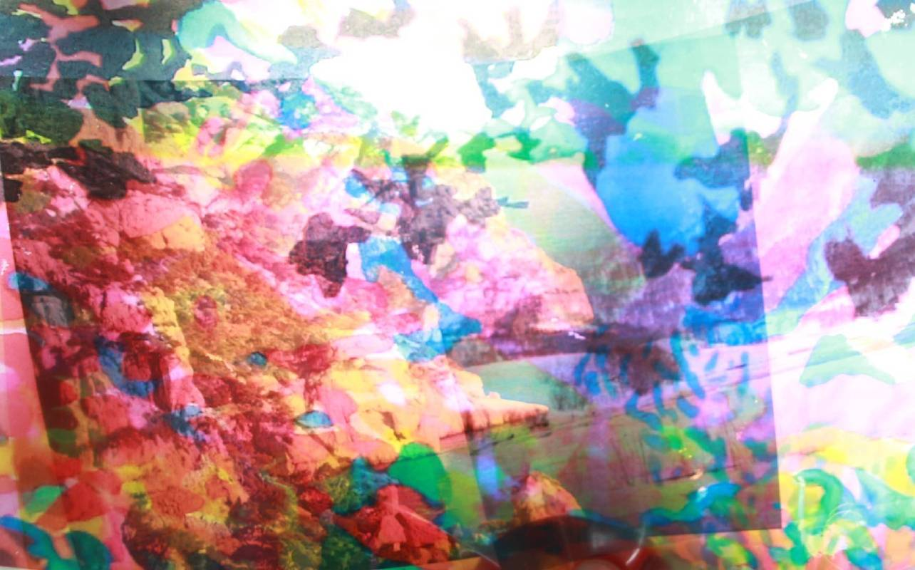 每個藍天下1-2,張雅棠,10.16x15.24,數位輸出,2015