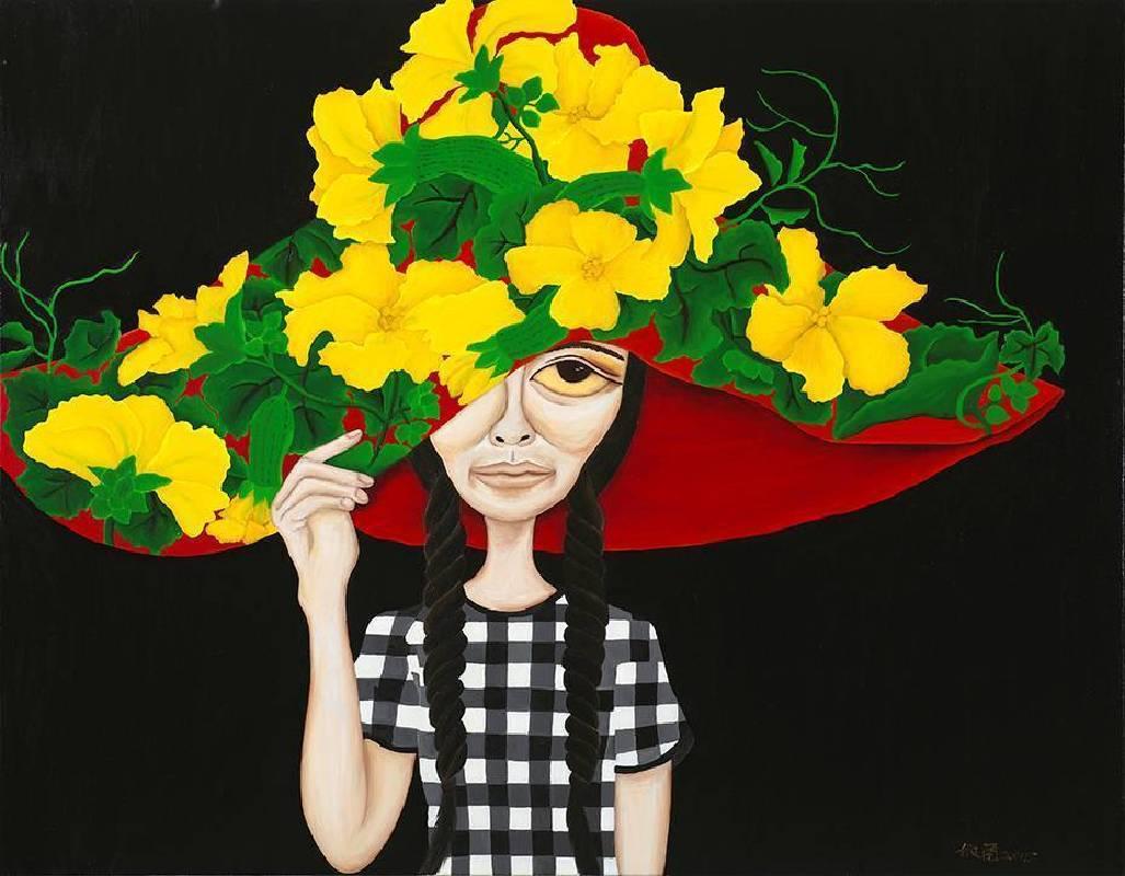 柳依蘭,《希望的帽子》,2015。