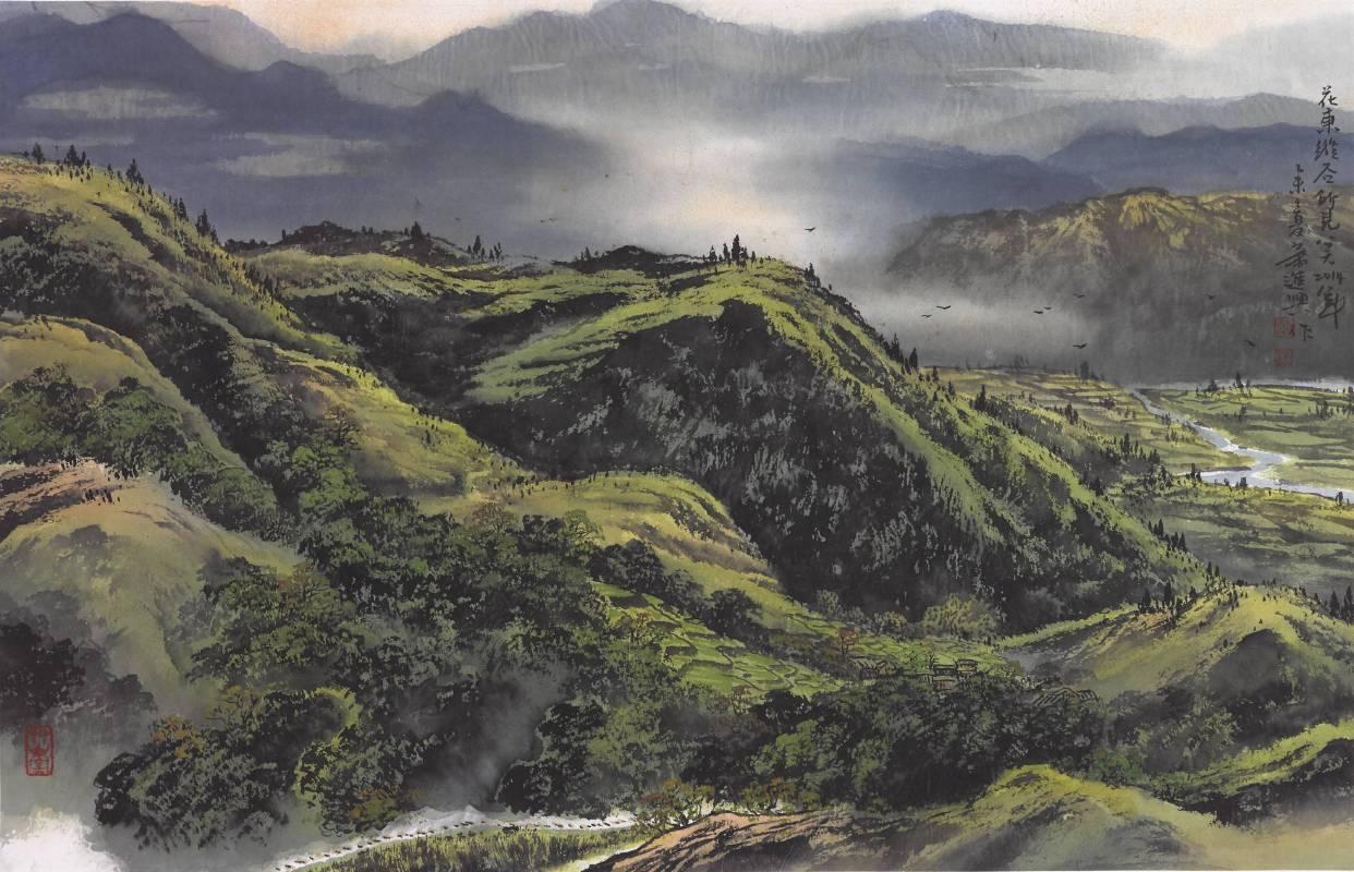 蕭進興《花東縱谷》