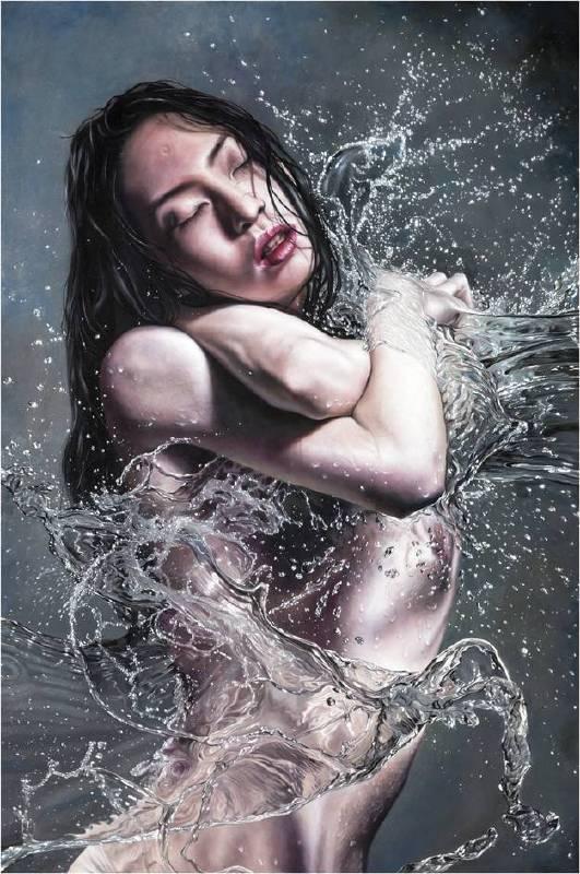 洪禎佑,《原生慾-尋覓》,2016。