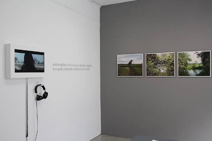 「透工—萬迪拉塔那與他所捨棄的影像」。圖/非池中藝術網攝。