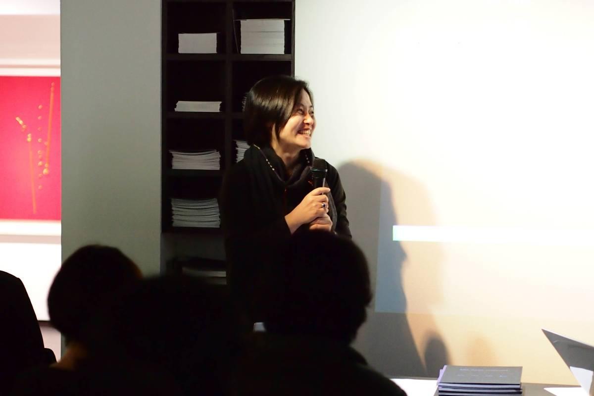 研討會-策展人文貞姬博士致詞