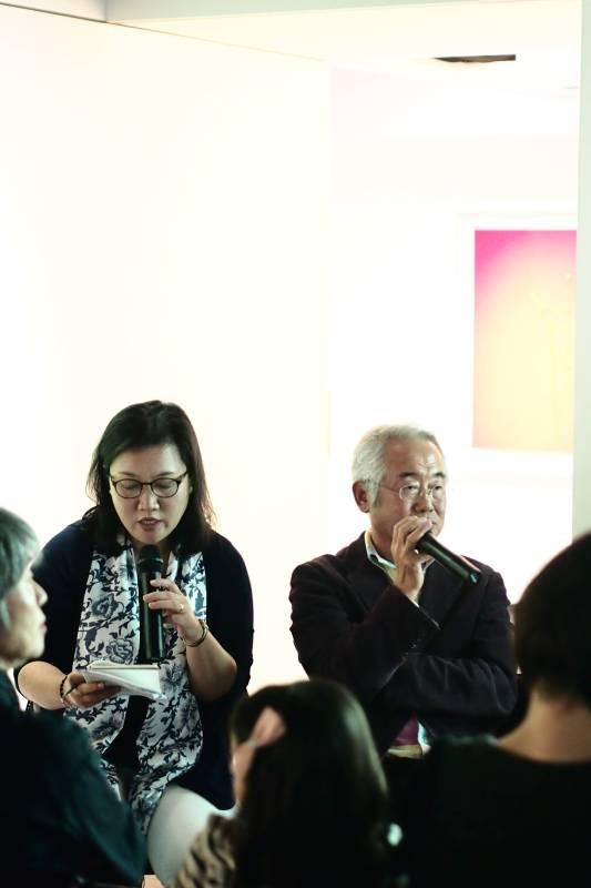 研討會-藝術家金泰浩說明創作概念