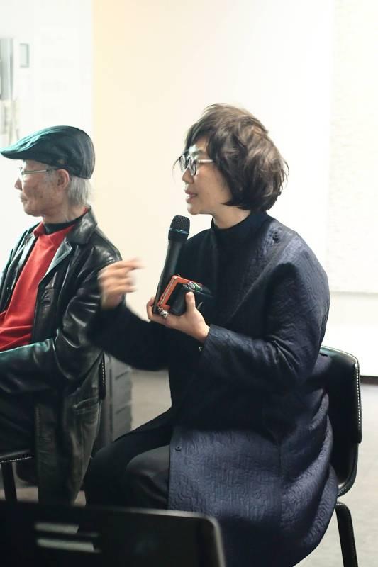 研討會-藝術家薛保瑕說明創作概念