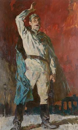 葉列梅耶夫,《勝利!》,1975。