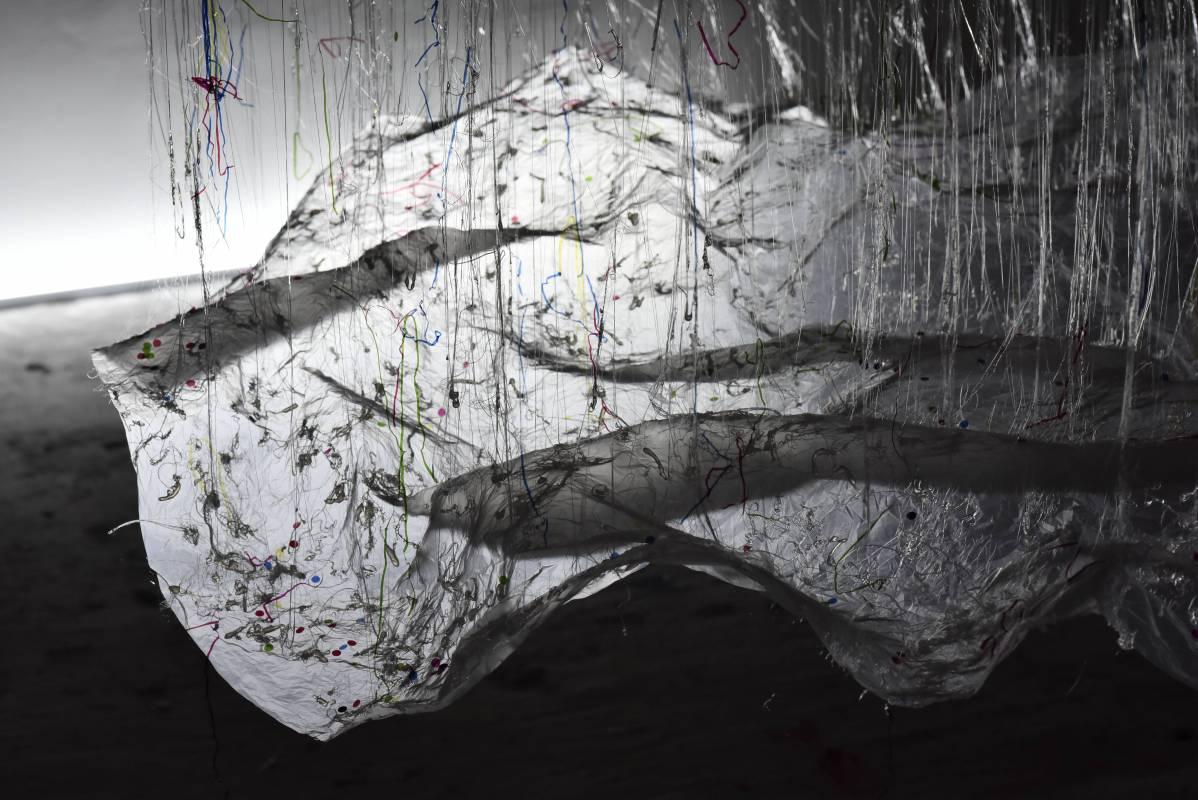 大西康明《未來的都市》。圖/水色藝術提供。