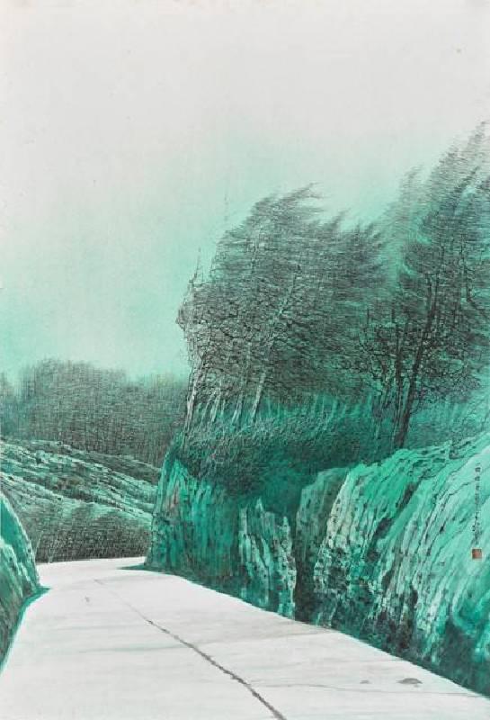 《綠島紀行之6》,王信豐