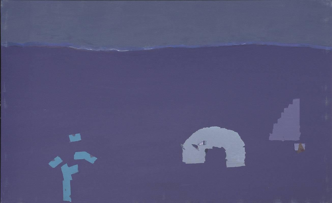 0098.15.顏頂生,鵲·華·秋·色-_境(四),壓克力顏料.畫布,2015