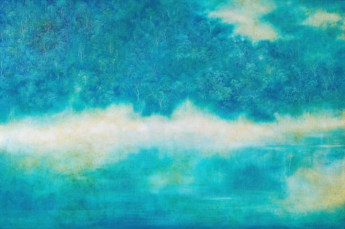 吳冠德-澄心-油畫-97x145.5cm-2016