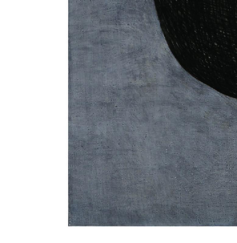 網-1 / 炭精筆,油彩,畫布 / 45.5x53cm / 2016 / 局部