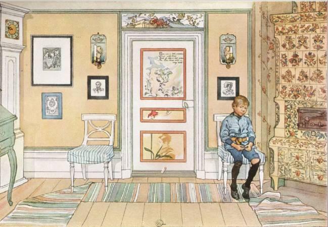 拉森,《角落》,1894。
