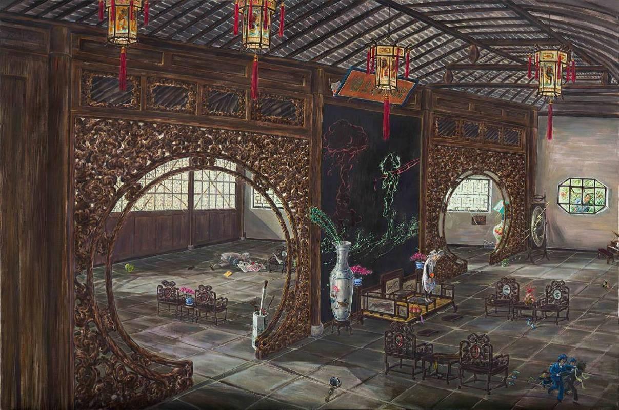劉大鴻 《鴛鴦廳》 2013