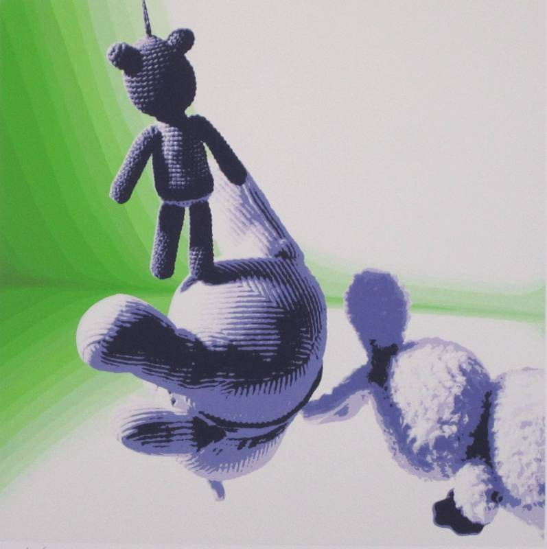 小林浩-Cast of Fortune-4-絲網版-40x40cm-2010