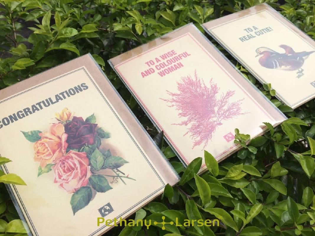 「Message Earth 丹麥零碳卡片」收益10%捐台灣荒野保護協會