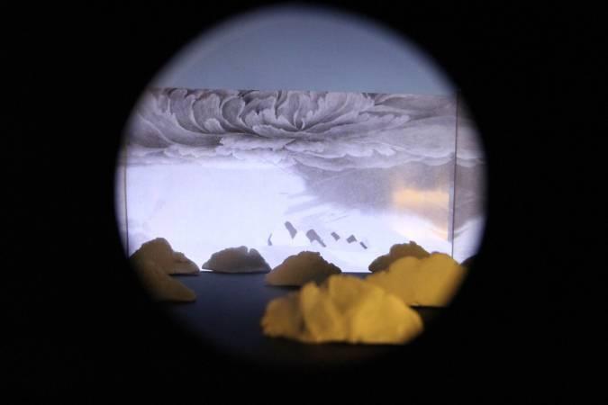 葉方《黑盒子裡的詠歎調》。圖/非池中藝術網攝。