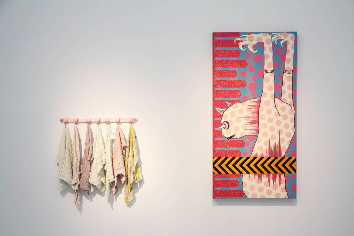 廖堉安,《即停練習》,2016年。圖/非池中藝術網。