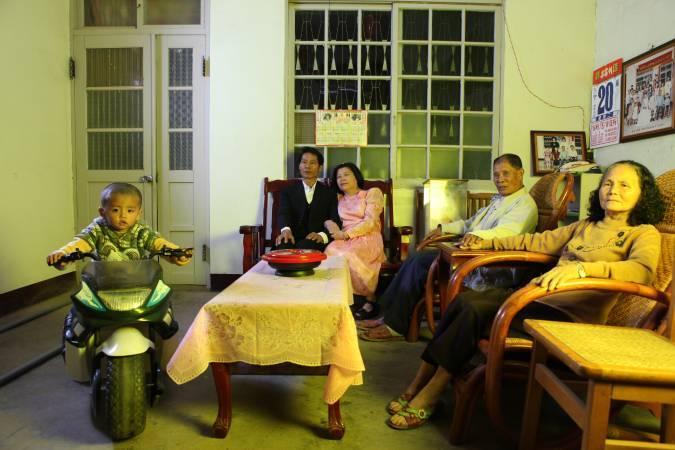 吳建興《家庭記憶》。圖/ 台北市立美術館提供。