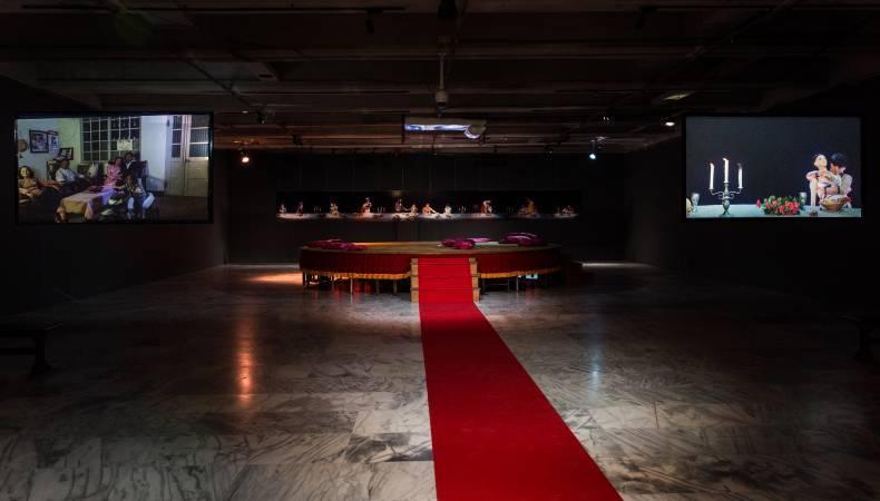 展場圖片。圖/ 台北市立美術館提供。