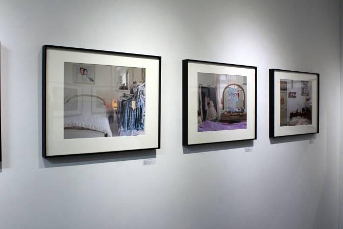 劉貞伶攝影個展《Yes, I do我願意》在1839 Little Gallery展出。圖/非池中藝術網。