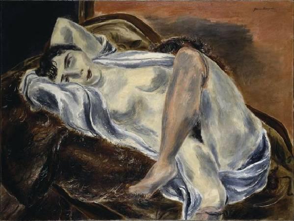 國吉康雄《裸體》,1929。