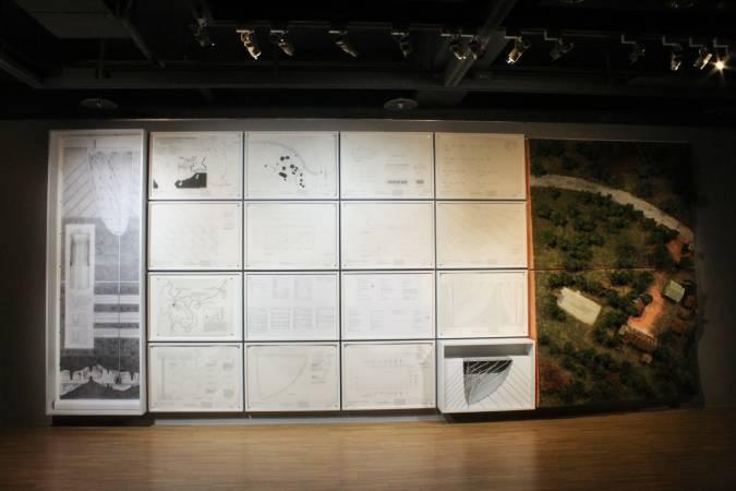 許家維《情報局紀念所》。圖/ 非池中藝術網 攝。