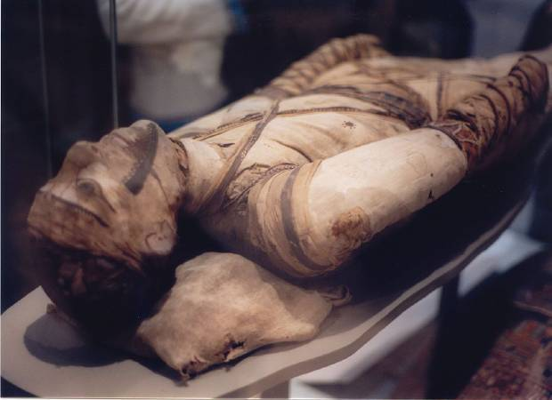 大英國物館藏埃及木乃伊。圖/取自artnet。