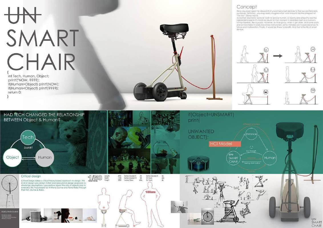 李博勳,〈UN-SMART〉椅子設計