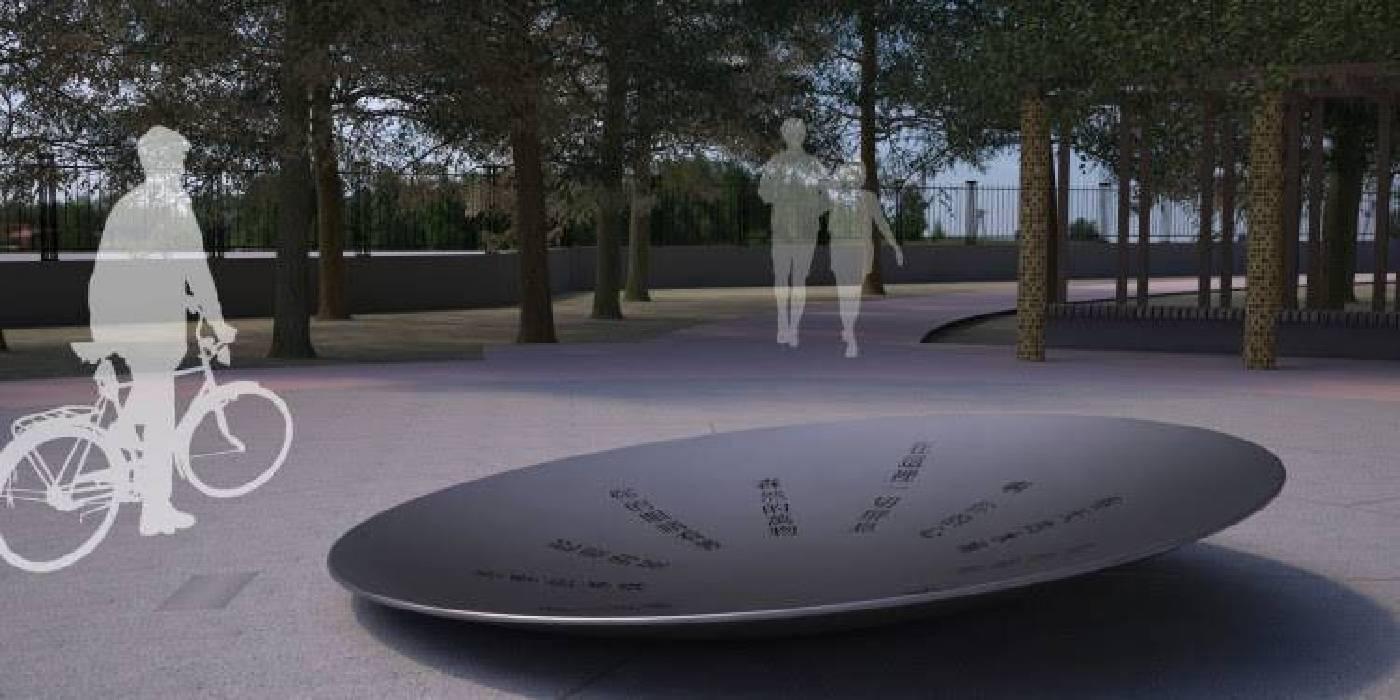 永久性設置作品:許悔之 X 梁豫漳〈靜謐之心〉模擬圖