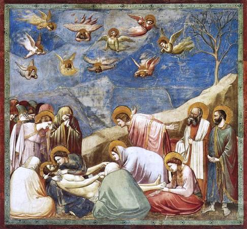 《哀悼基督》, Giotto di Bondone。