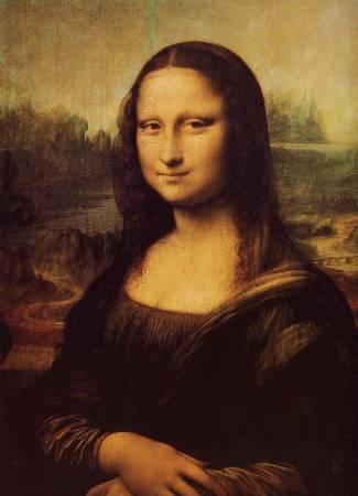 Leonardo da Vinci,《蒙娜麗莎的微笑》。圖/取自wikimedia。