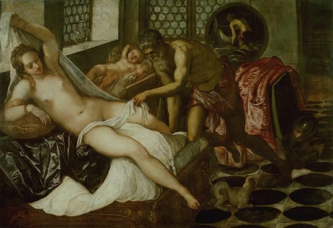 Parmigianino,《維納斯、戰神及華爾康》。圖/取自wikimedia。