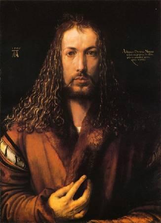 《自畫像》, Albrecht Duerer。